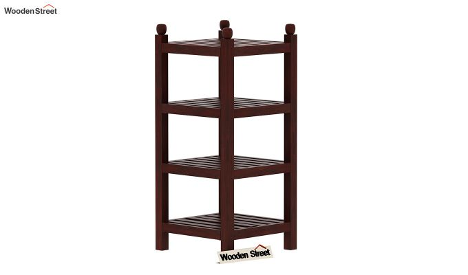 Vasco Book Rack (Mahogany Finish)-2