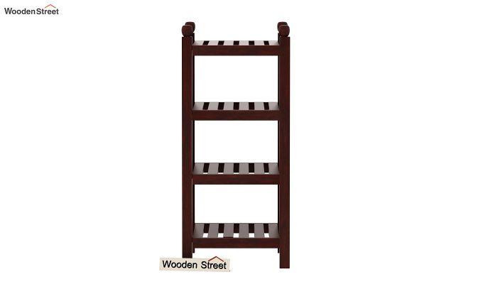 Vasco Book Rack (Mahogany Finish)-3