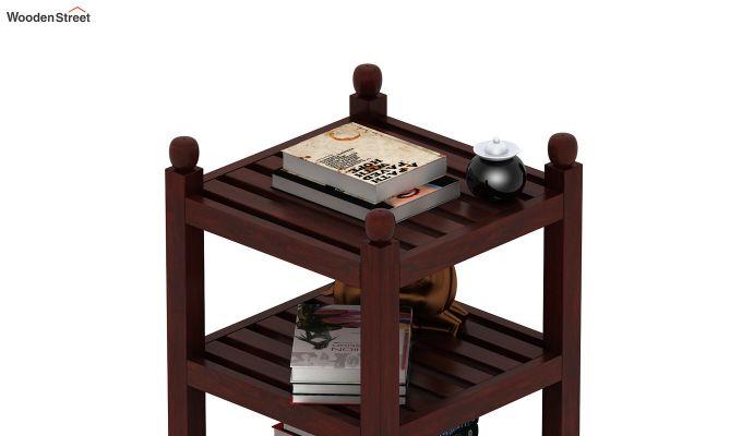 Vasco Book Rack (Mahogany Finish)-4