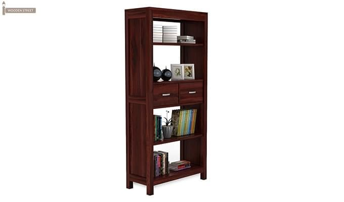 Vito Bookshelf (Mahogany Finish)-2