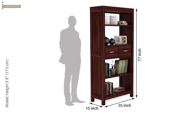 Vito Bookshelf (Mahogany Finish)-5