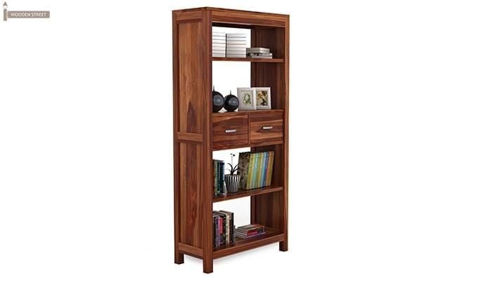 Vito Bookshelf (Teak Finish)-2