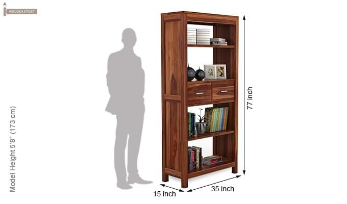 Vito Bookshelf (Teak Finish)-6
