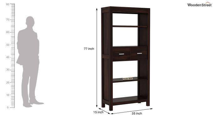 Vito Bookshelf (Walnut Finish)-6