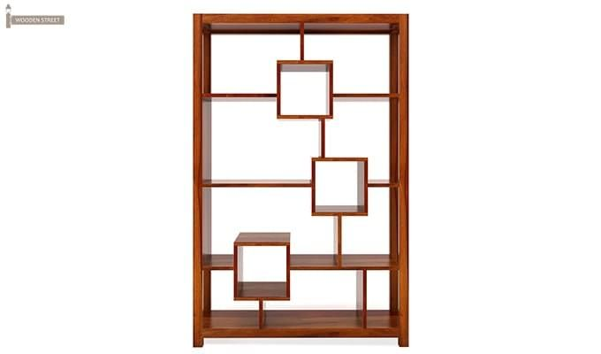 Welles Book Shelves (Honey Finish)-3