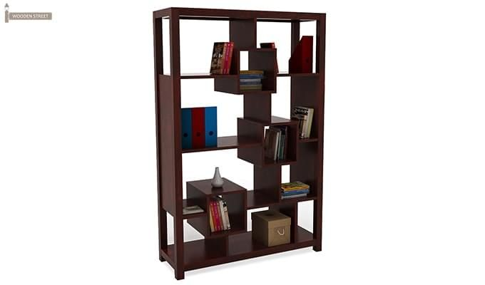 Welles Book Shelves (Mahogany Finish)-1
