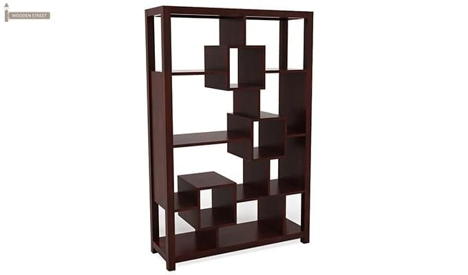Welles Book Shelves (Mahogany Finish)-2