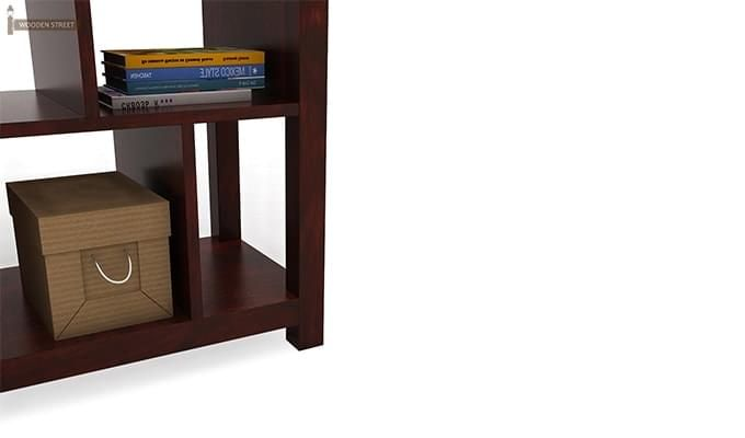 Welles Book Shelves (Mahogany Finish)-5