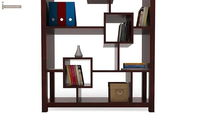 Welles Book Shelves (Mahogany Finish)-6