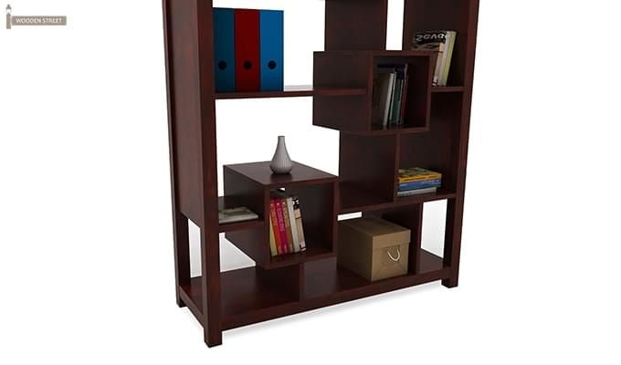 Welles Book Shelves (Mahogany Finish)-7