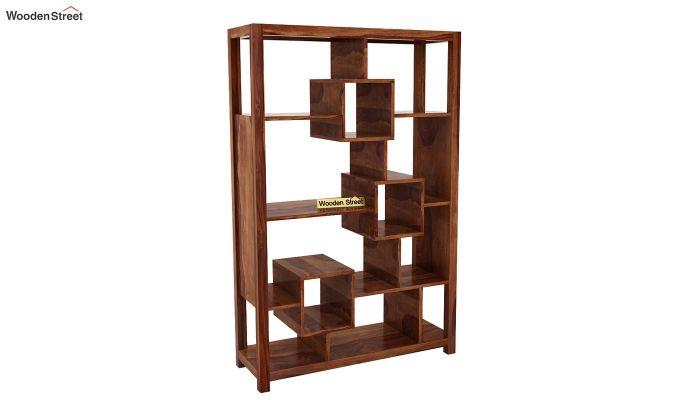 Welles Book Shelves (Teak Finish)-3