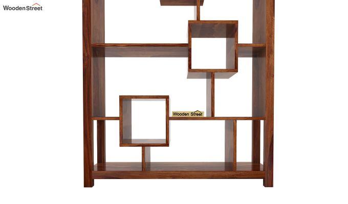 Welles Book Shelves (Teak Finish)-6