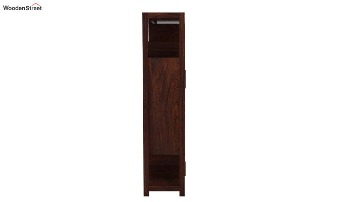Welles Book Shelves (Walnut Finish)-6
