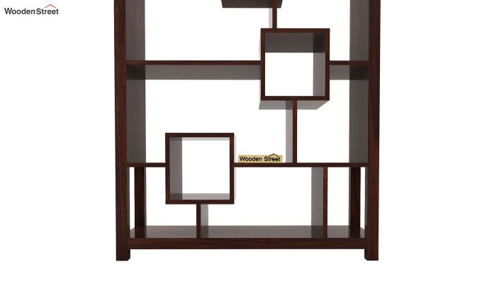 Welles Book Shelves (Walnut Finish)-7