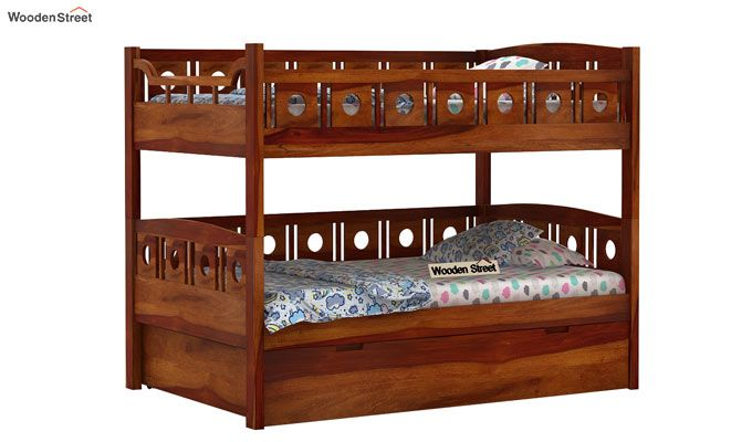 Blossom Bunk Bed (Honey Finish)-3