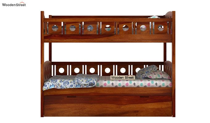 Blossom Bunk Bed (Honey Finish)-4