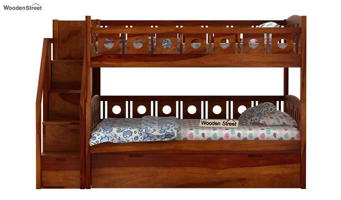 Blossom Bunk Bed (Honey Finish)-6