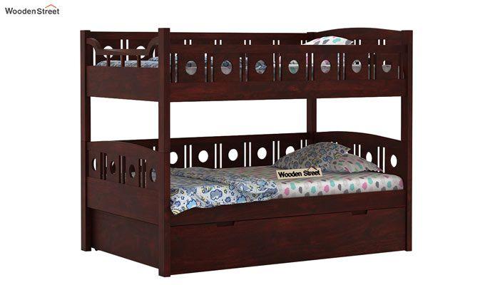 Blossom Bunk Bed (Mahogany Finish)-3