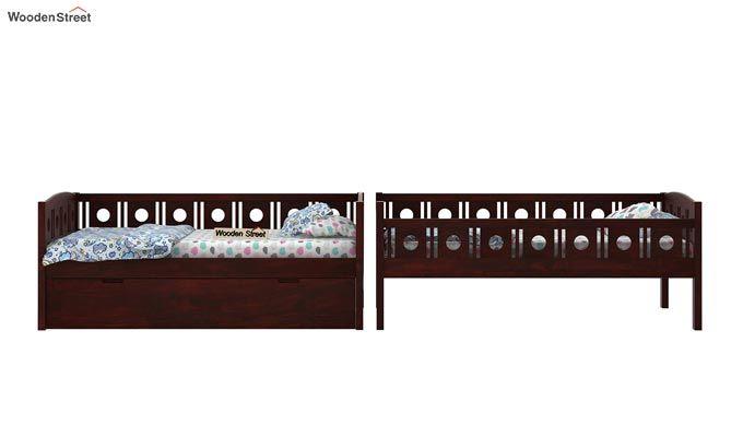 Blossom Bunk Bed (Mahogany Finish)-8
