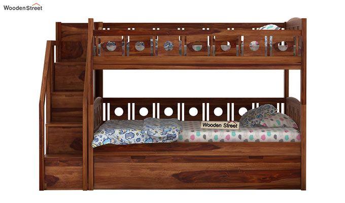 Blossom Bunk Bed (Teak Finish)-2