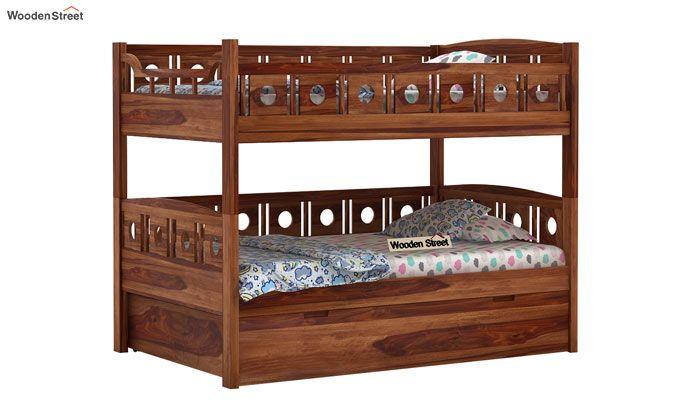 Blossom Bunk Bed (Teak Finish)-3