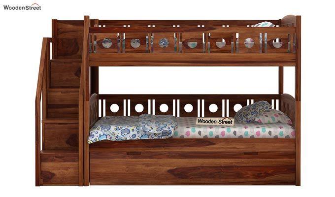 Blossom Bunk Bed (Teak Finish)-6