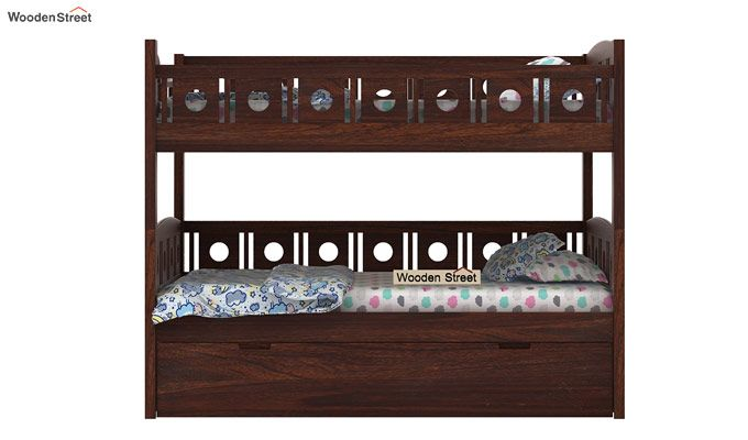 Blossom Bunk Bed (Walnut Finish)-5
