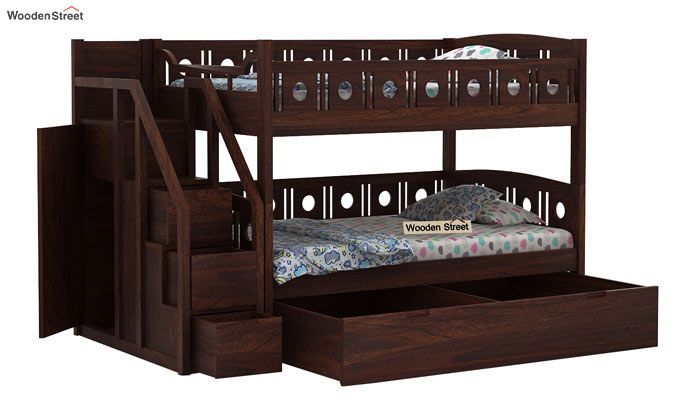 Blossom Bunk Bed (Walnut Finish)-6