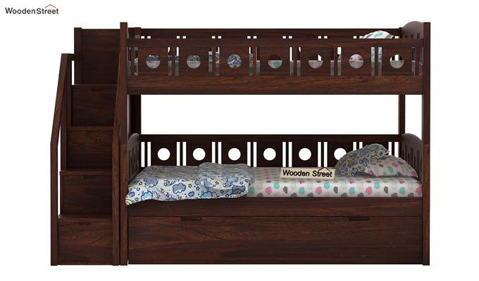 Blossom Bunk Bed (Walnut Finish)-7