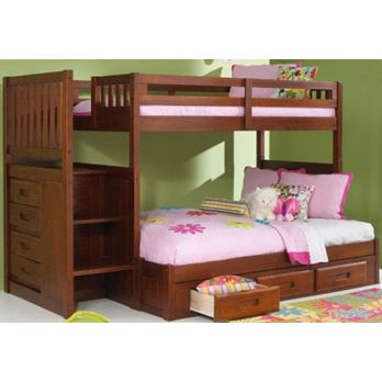 Exclusively designed wooden bunk beds for kids