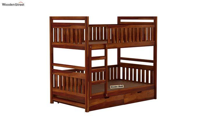 Douglas Bunk Bed (Honey Finish)-3