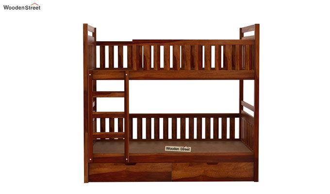 Douglas Bunk Bed (Honey Finish)-4