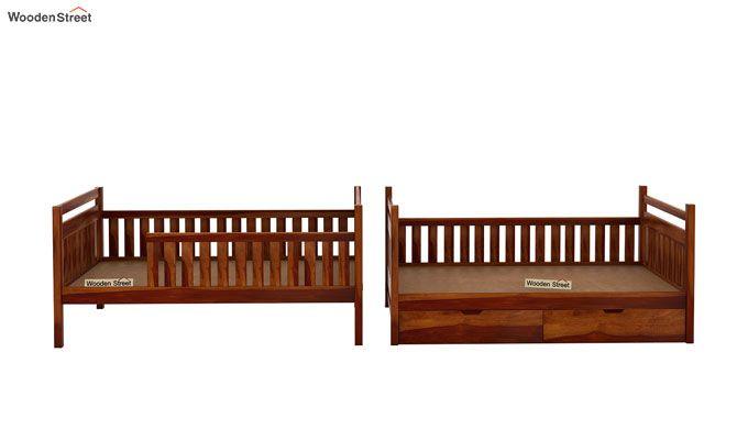 Douglas Bunk Bed (Honey Finish)-5
