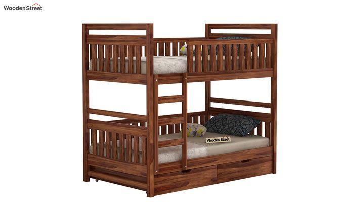 Douglas Bunk Bed (Teak Finish)-1