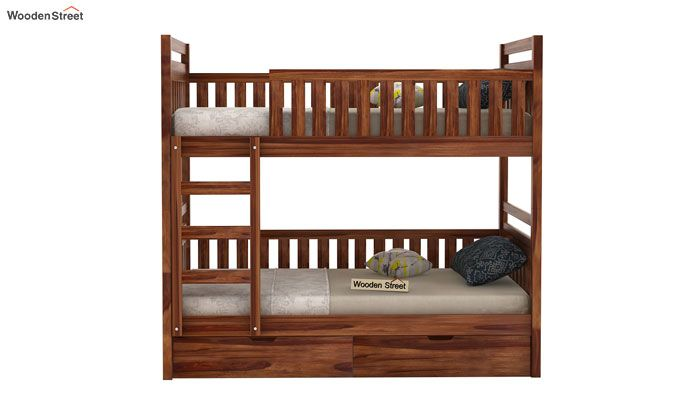 Douglas Bunk Bed (Teak Finish)-2