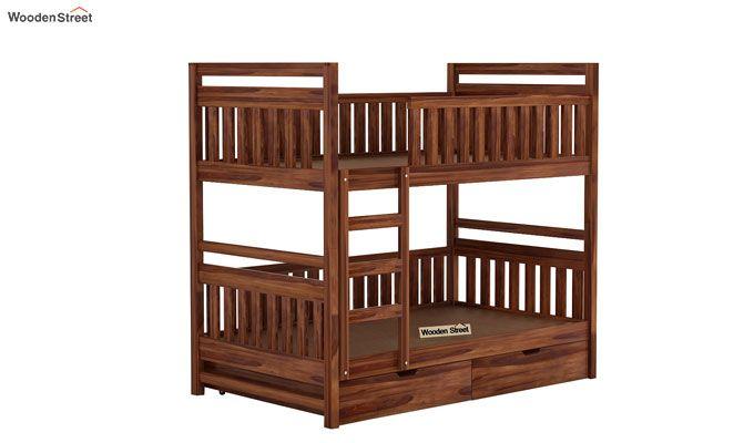 Douglas Bunk Bed (Teak Finish)-3