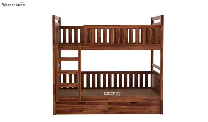 Douglas Bunk Bed (Teak Finish)-4