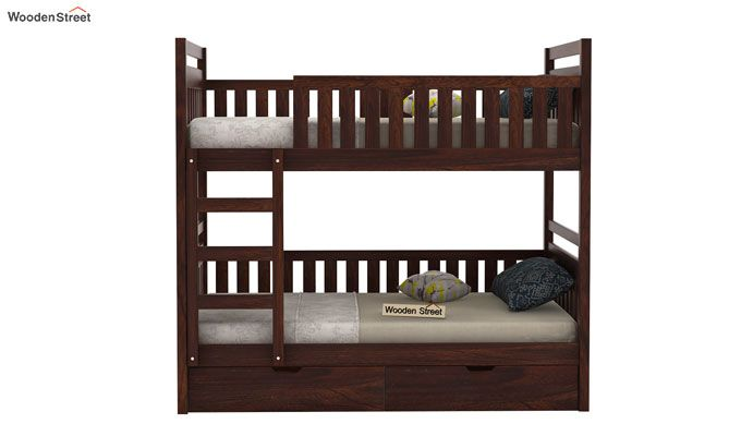 Douglas Bunk Bed (Walnut Finish)-3