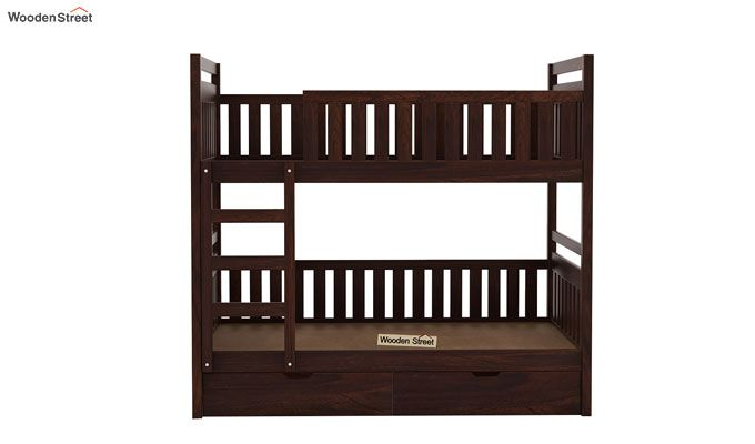 Douglas Bunk Bed (Walnut Finish)-5