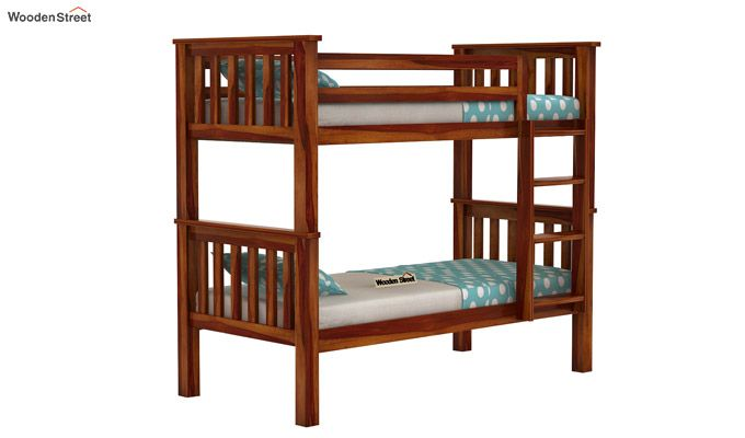 Hercules Bunk Bed (Honey Finish)-1