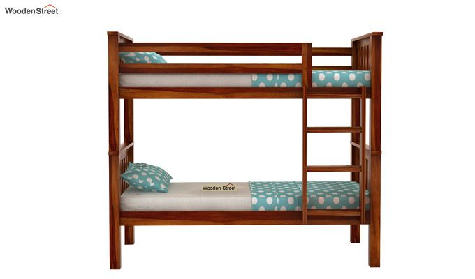 Hercules Bunk Bed (Honey Finish)-2