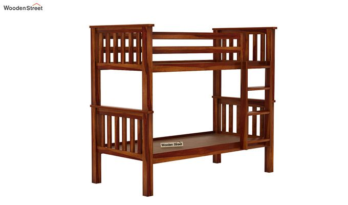 Hercules Bunk Bed (Honey Finish)-3