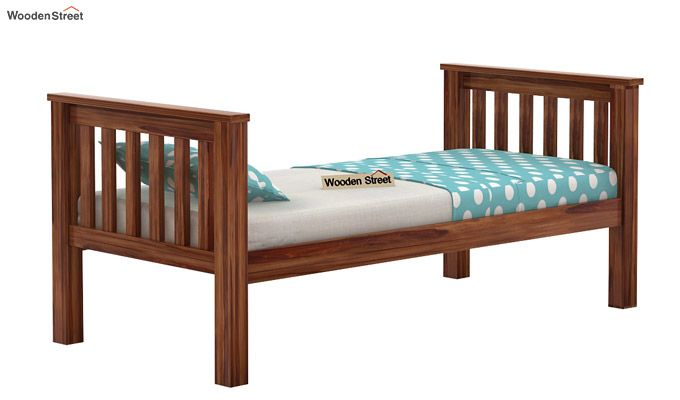 Hercules Kids Bed (Teak Finish)-7