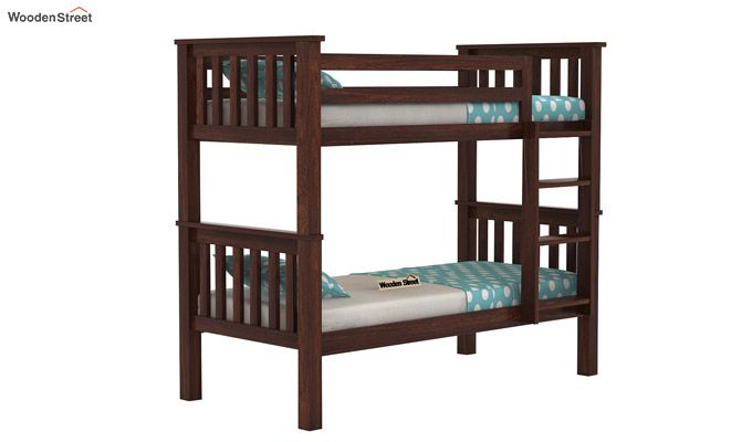 Hercules Kids Bed (Walnut Finish)-1