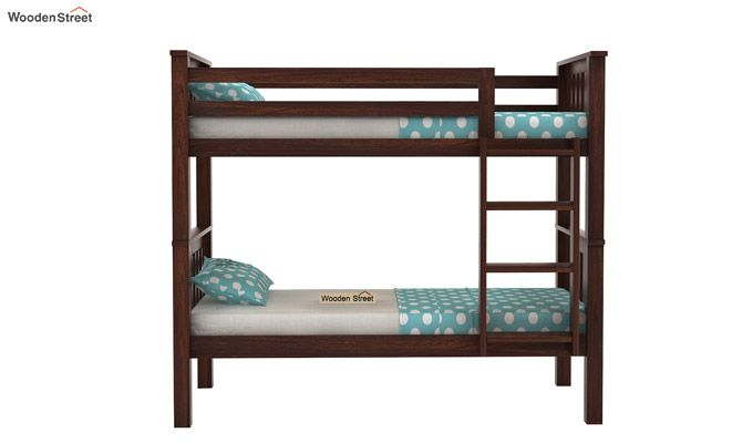Hercules Kids Bed (Walnut Finish)-2