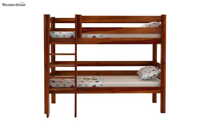 Hout Bunk Bed (Honey Finish)-2