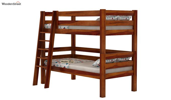 Hout Bunk Bed (Honey Finish)-3