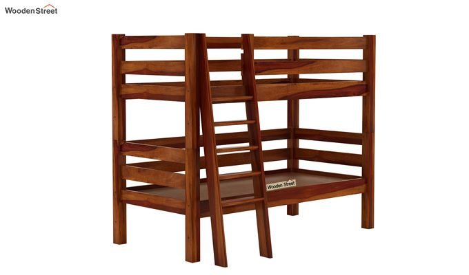 Hout Bunk Bed (Honey Finish)-4