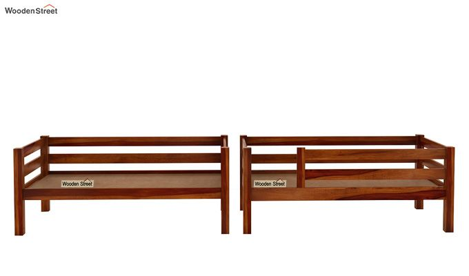 Hout Bunk Bed (Honey Finish)-5