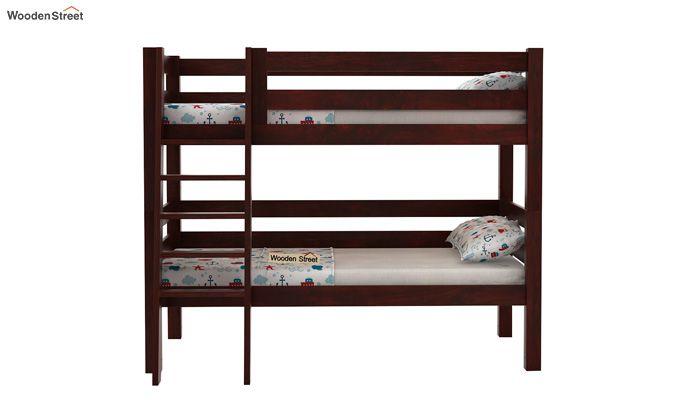 Hout Bunk Bed (Mahogany Finish)-2